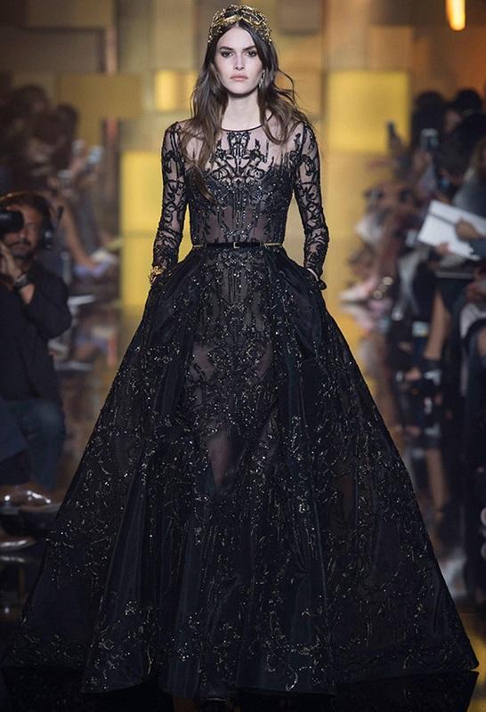 Сватбена рокля от колекцията на Eli Saab.