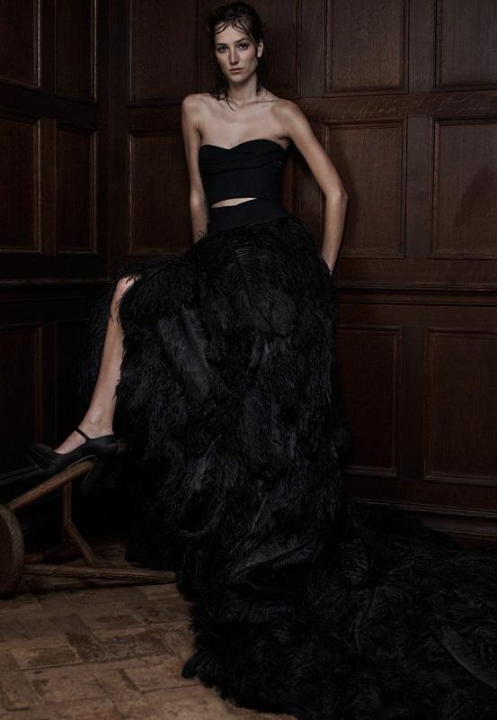 Сватбена рокля от колекцията на Vera Wang.