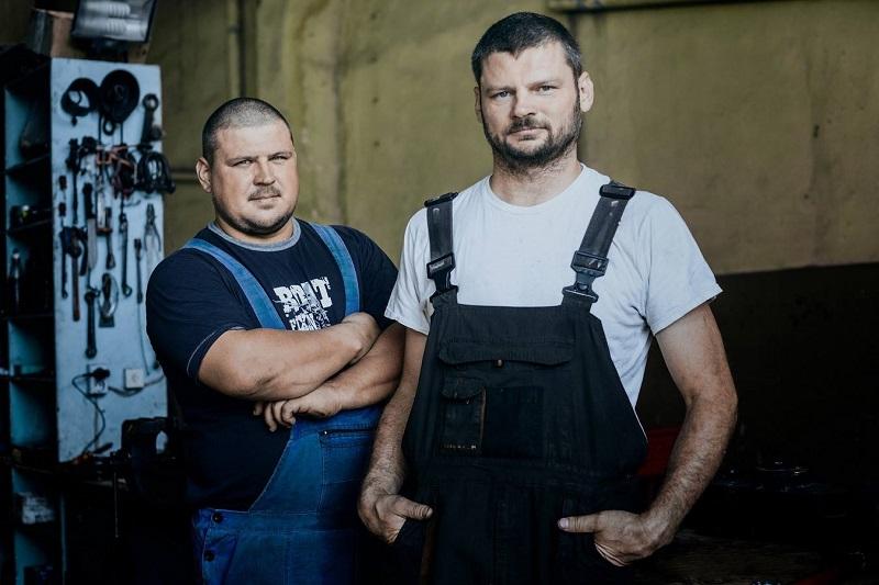 Двамата братя Сергей и Димитър Шорин