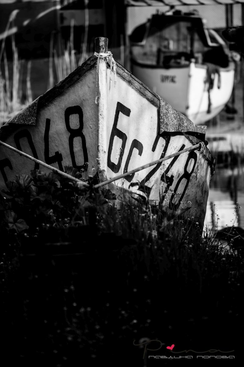 "Рибарското пристанище ""Ченгене скеле"". Снимка: Павлина Попова"