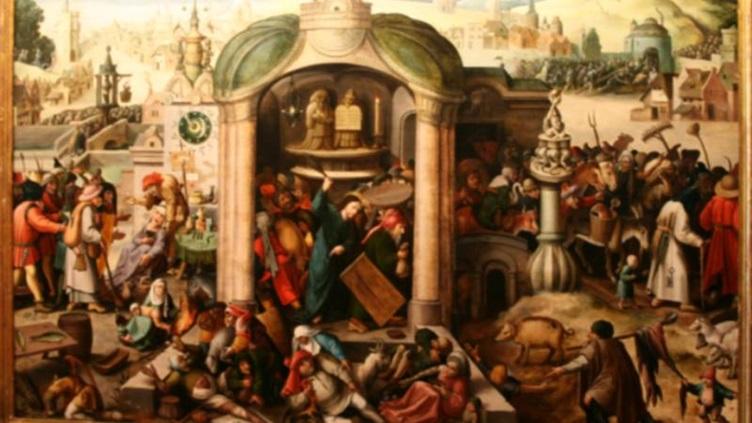 Велики понеделник – денят, в който Христос гони търговците от храма