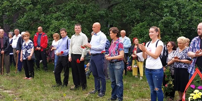 БСП почете паметта на геройски загиналите партизани и ятаци в Добра поляна и Топчийско