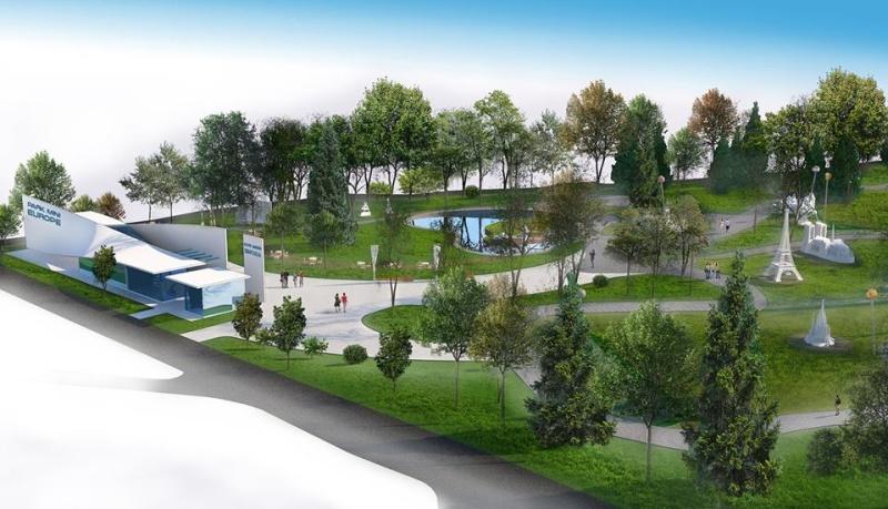 """Вижте проекта за парка на миниатюрите в """"Славейков"""""""