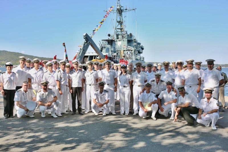 Бургаският дивизион противоминни кораби стана на 69 години