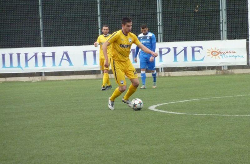 Националът Георги Радев се завърна в Созопол