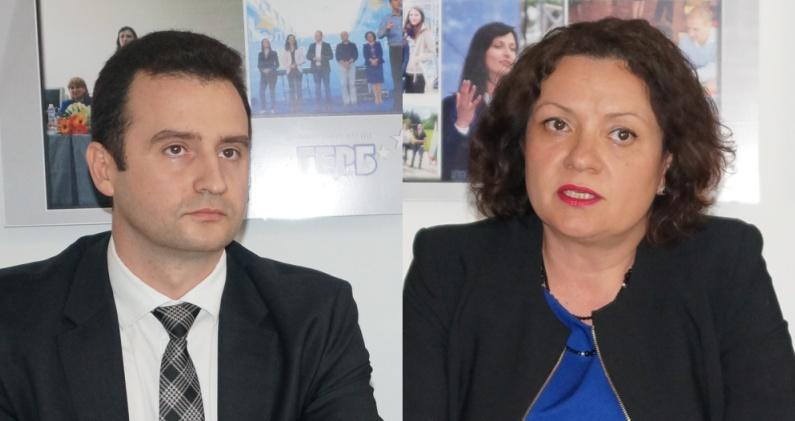 Ивелина Василева и Жечо Станков са бургаските представители в евролистата на ГЕРБ