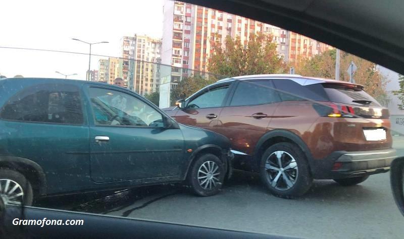 Катастрофа на възлово кръстовище в Бургас