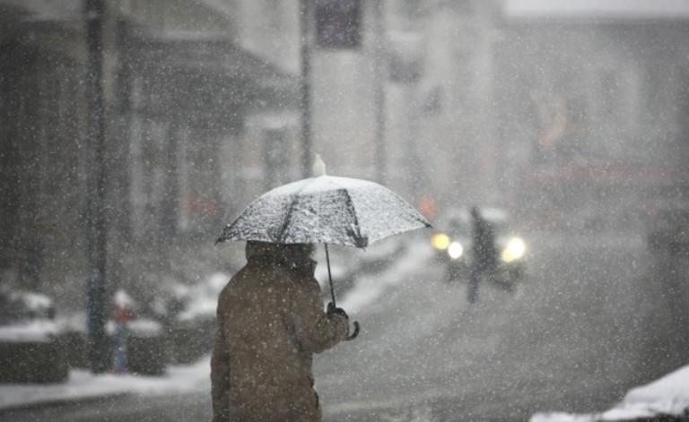 Дъжд и сняг днес