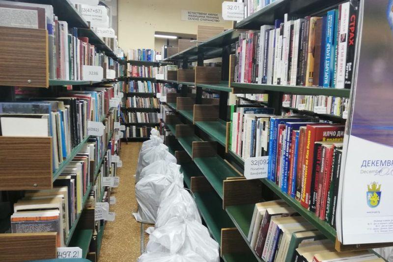 Ще местят 600 000 книги в новата сграда на регионалната библиотека