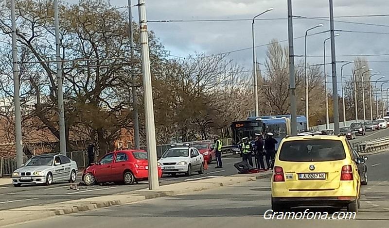 Полицията с подробности за катастрофата преди стадион Черноморец