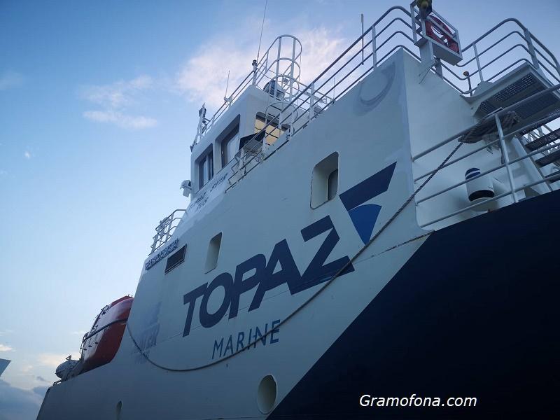 Флотилията на TE&M акостира в Бургас