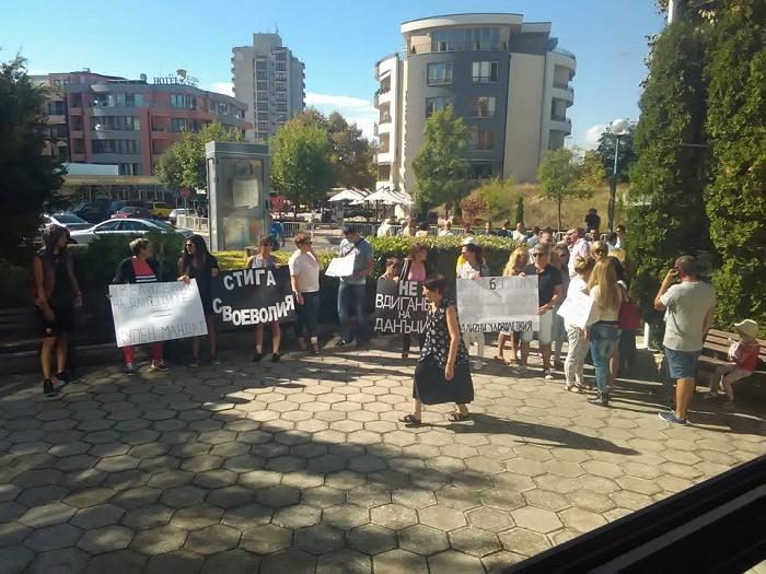 Несебърлии на протест срещу по-скъпия данък имоти