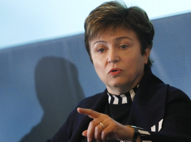 Кристалина Георгиева влиза в битката за председател на ЕК