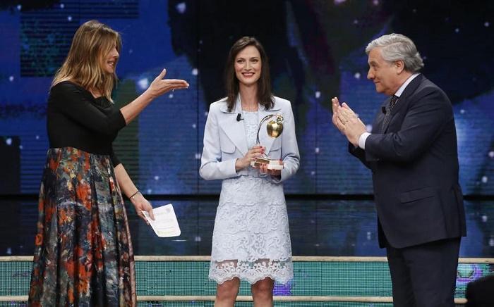 Мария Габриел с най-престижното италианско отличие за върхови постижения на жените