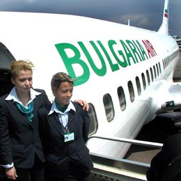 България Еър спря полетите си до Украйна