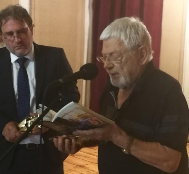 Министърът на културата Боил Банов награди Недялко Йорданов