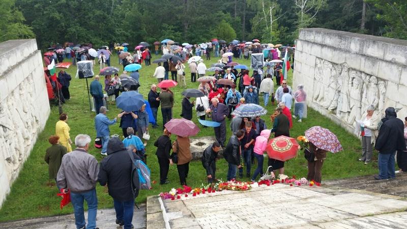 БСП почете паметта на партизаните от Народен юмрук