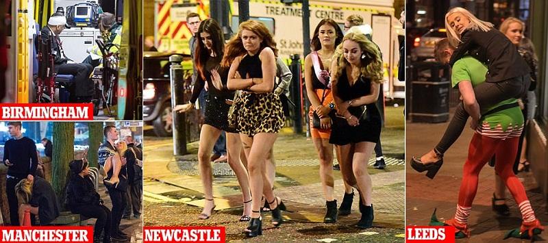 Лудият петък на англичаните, или какво се случва на Острова в нощта на офисните партита