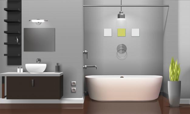 Какъв тип осветителни тела да изберем за банята?