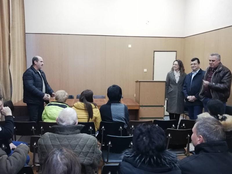 Евродепутатът Асим Адемов и народният представител Ася Пеева проведоха срещи с жителите на община Руен