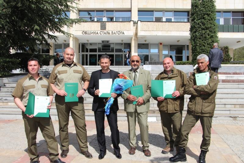 Горски служители от Бургас с награди за опазването на горите