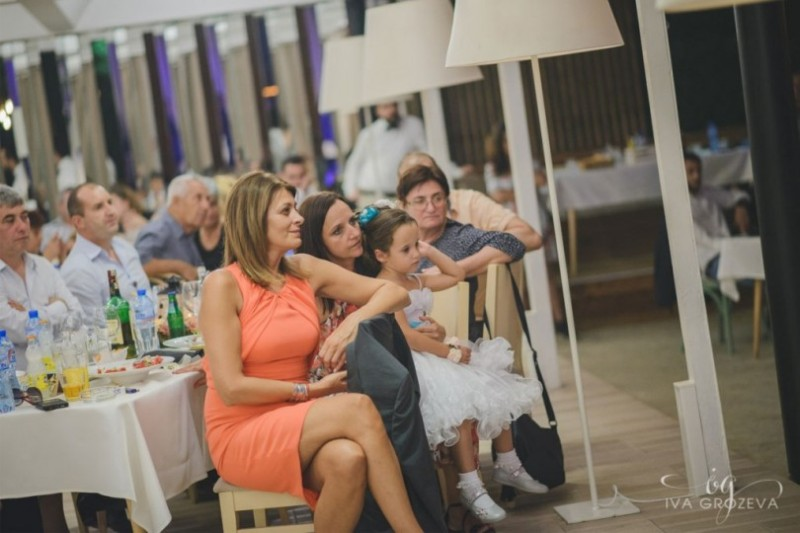Президентът и първата дама на сватба в Крайморие
