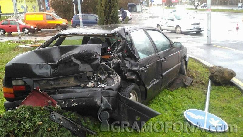Полицията потвърди версията на автобусния шофьор за катастрофата