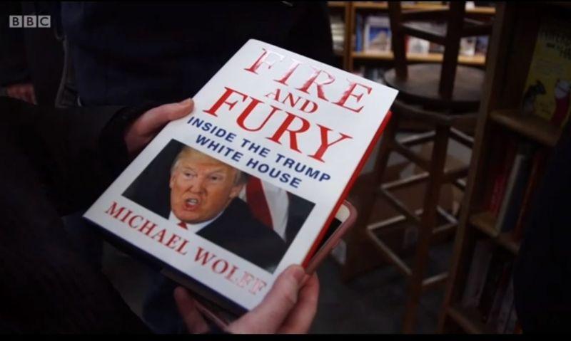 Интересът към книгата за Тръмп същият като за Хари Потър
