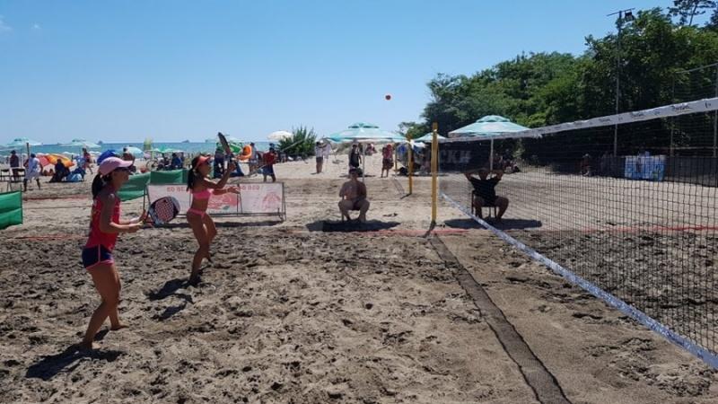 Международен турнир по плажен тенис започва в Бургас