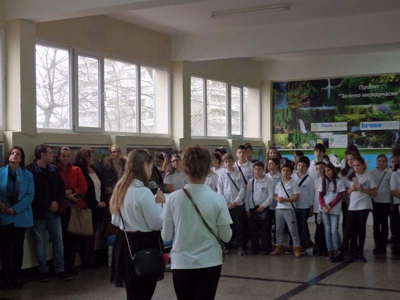 """Децата от """"Васил Априлов"""" искат фонтан и водопад в училище"""