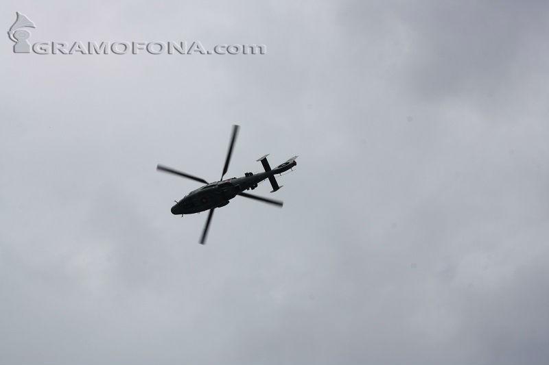 Почина командирът на падналия хеликоптер