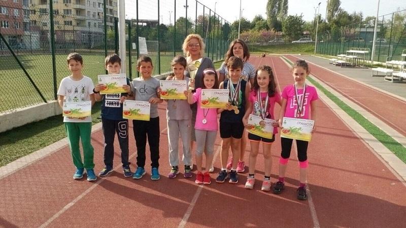 14 медала за бургаски деца лекоатлети