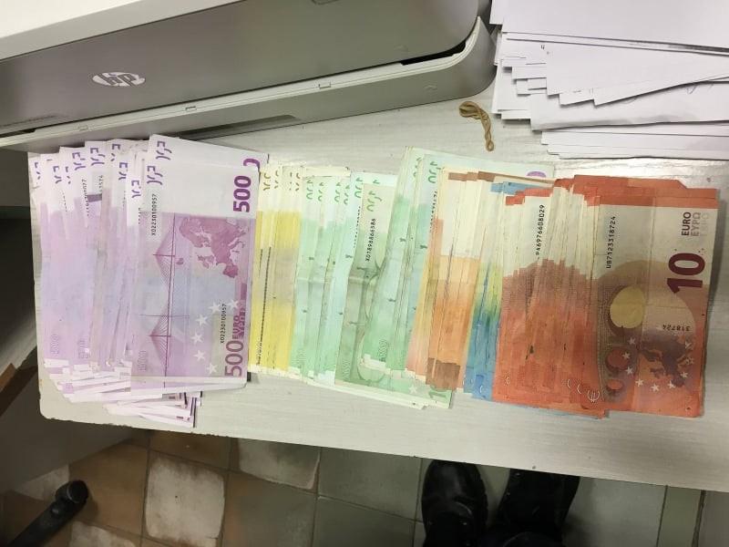 Недекларирана валута за над 400 000 лева откриха на МП Малко Търново
