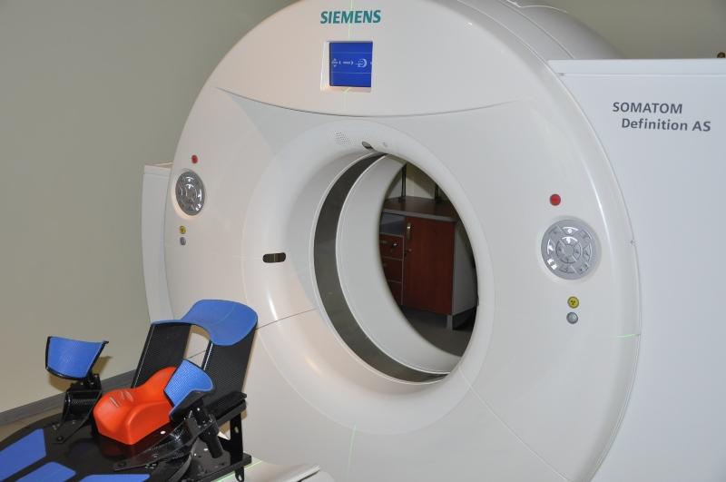 Новият скенер за радиационна хирургия заработи