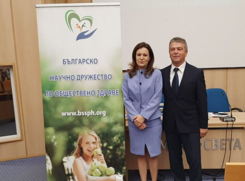 Проф. д-р Христо Бозов оглави българското научно дружество по обществено здраве