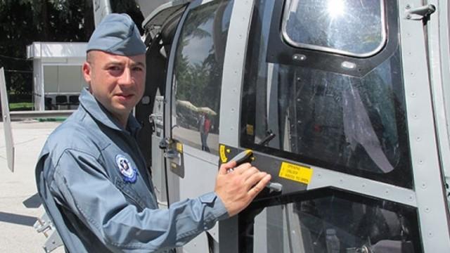 Повишават посмъртно в чин загиналия командир на падналия хеликоптер