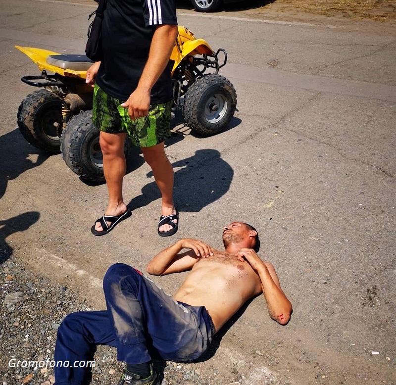 Пиян и без книжка катастрофира с АТВ