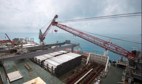 Газпром построи 220 км от Турски поток