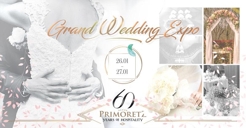 Първото издание на Grand Wedding Expo показва всичко за сватбата в Гранд Хотел и СПА Приморец