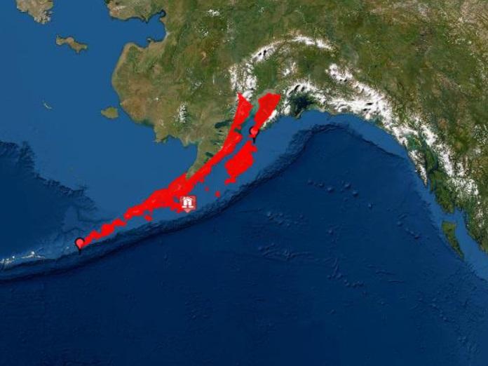 7,8 по Рихтер разтресе Аляска, има риск от цунами