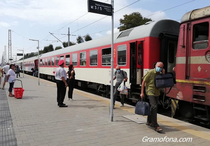 Евакуираха 30 пътници от влака София – Бургас