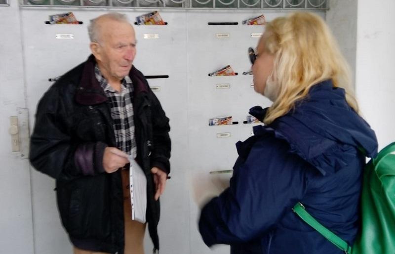 Внуци пращат по Тони Димитрова подаръци за рождения ден на любимия си дядо