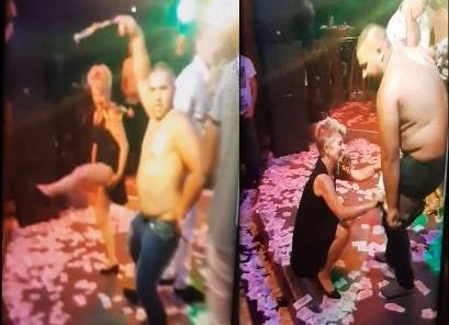 Звездата на бала: 58-годишна учителка се впусна в мръсни танци с абитуриент
