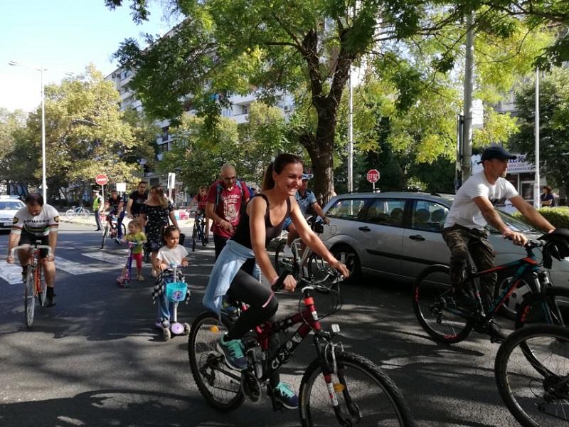 И Бургас стана част от световния ден без автомобили