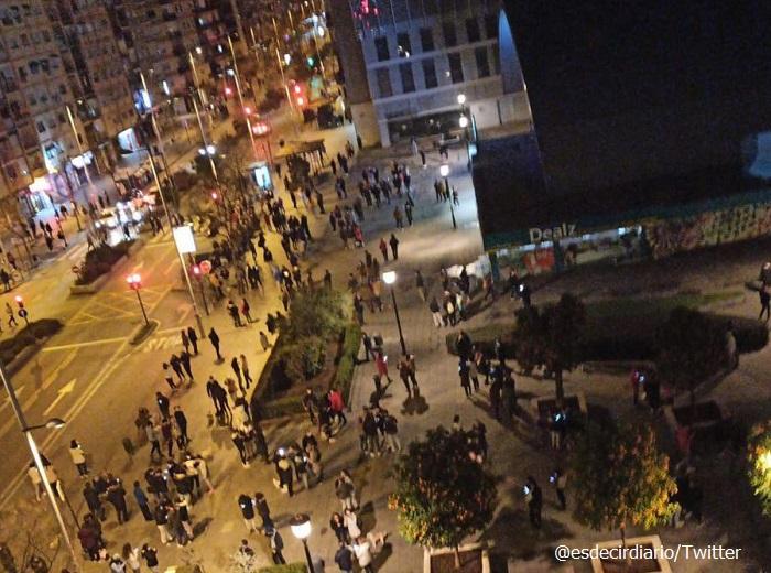 Серия от земетресения в Южна Испания, стотици прекараха нощта на улицата