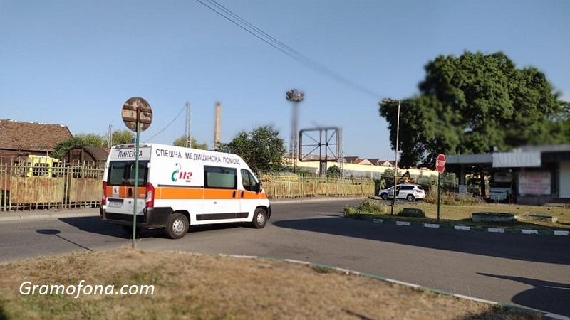 Отцепиха автогара Запад в Бургас