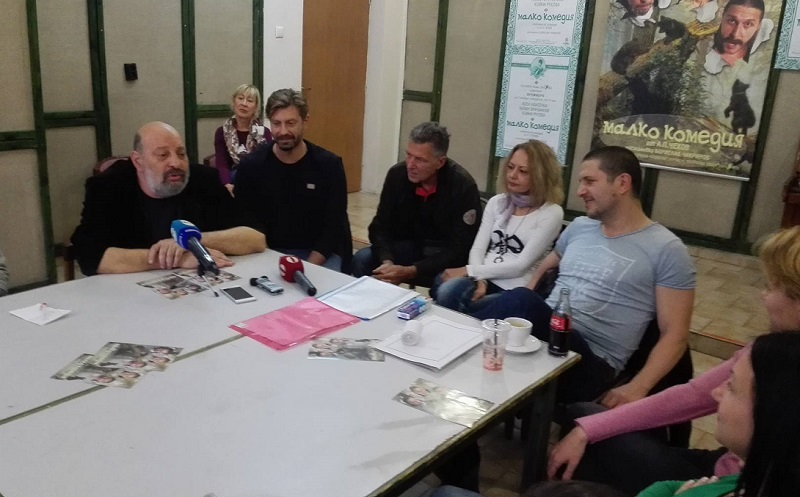 Асен Блатечки, Калин Врачански и Койна Русева играят за първи път заедно в Бургас