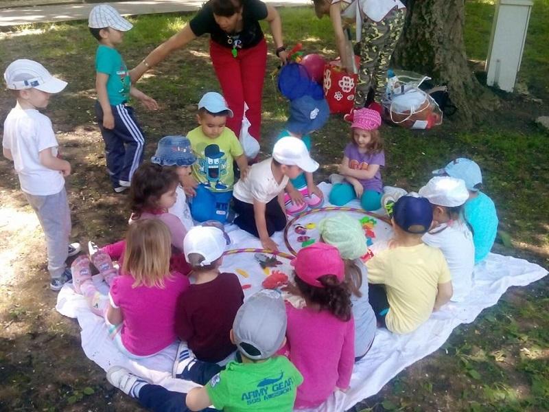 Детски градини в Бургас с летни занятия на открито