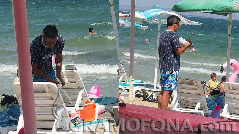 Депутат си открадна уикенд на плажа в Крайморие