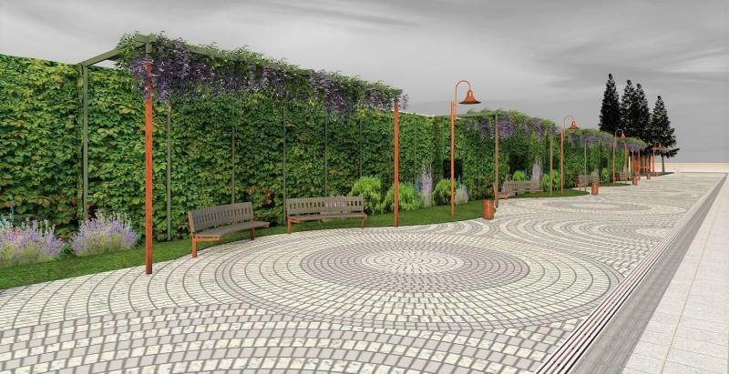 Ето как ще изглежда улица в центъра на Бургас